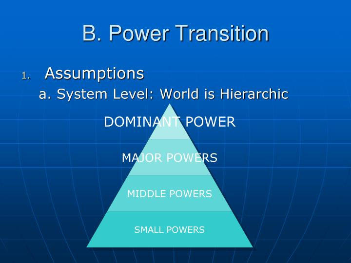 B. Power Transition