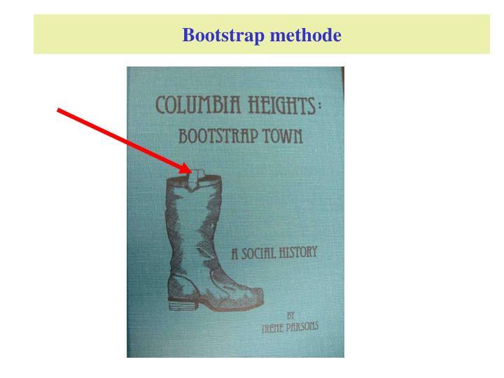 Bootstrap methode
