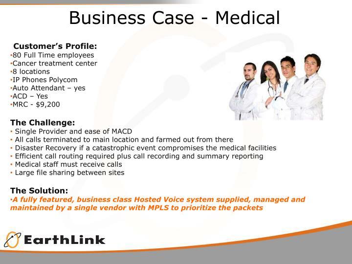 Business Case - Medical