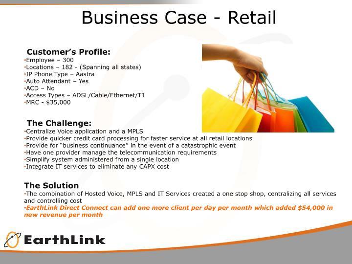 Business Case - Retail
