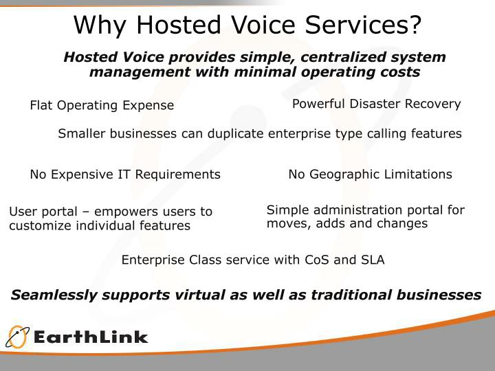 Why Hosted Voice Services?