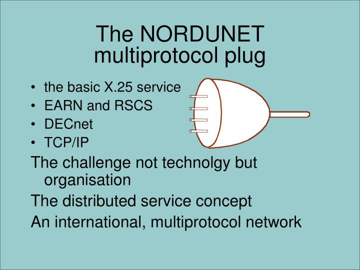 The NORDUNET multiprotocol plug
