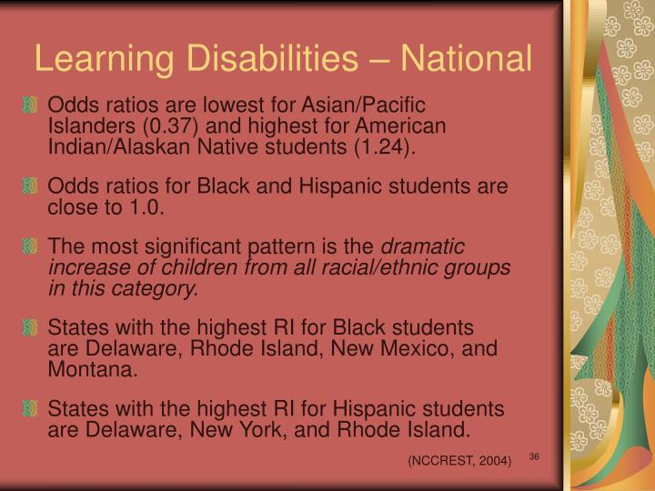 Learning Disabilities – National