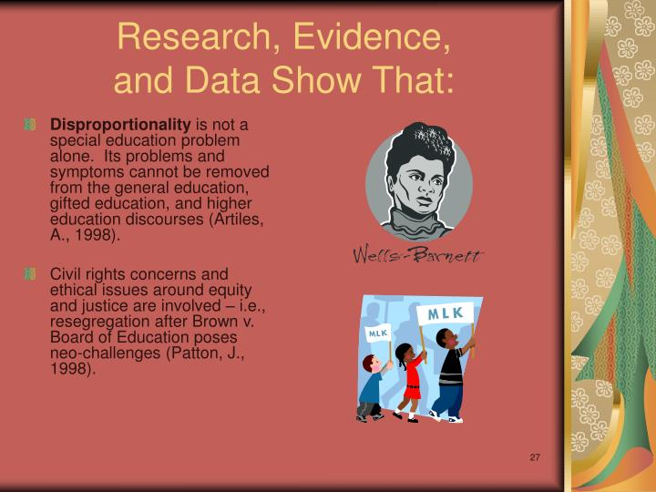 Research, Evidence,