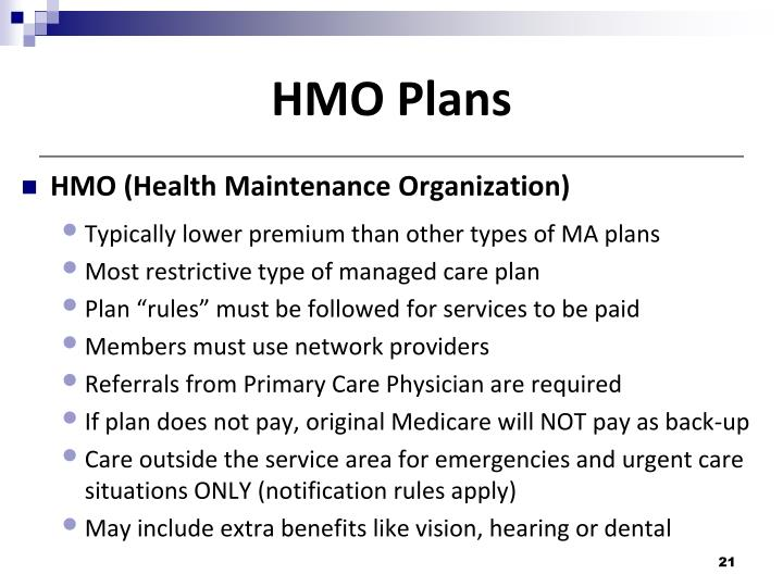 HMO Plans