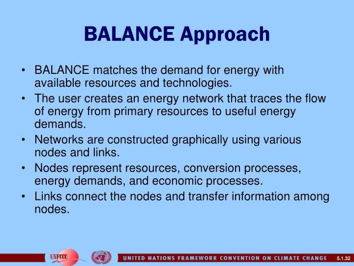 BALANCE Approach
