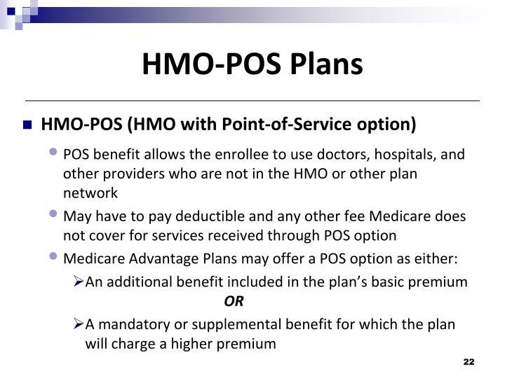 HMO-POS Plans
