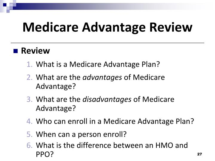 Medicare Advantage Review