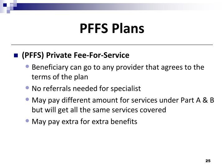 PFFS Plans