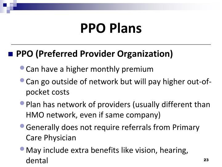PPO Plans