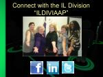 connect with the il division ildiviaap