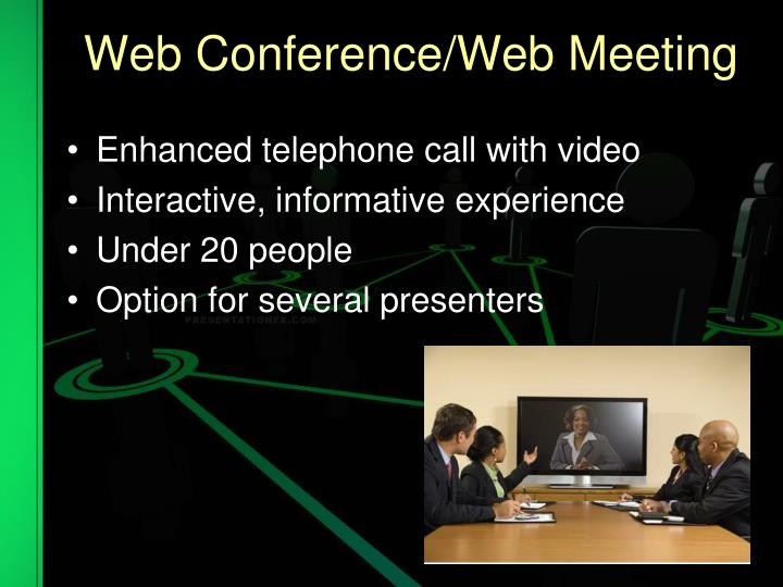 Web Conference/Web Meeting