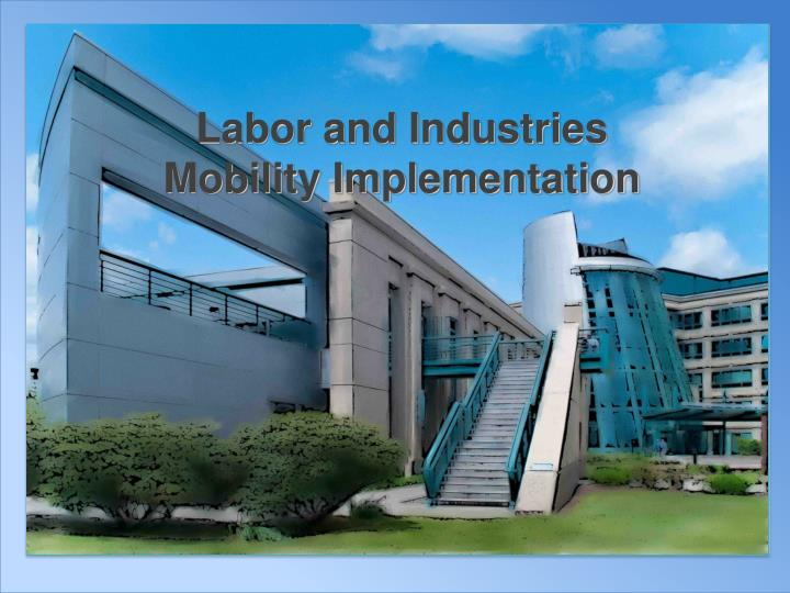 Labor and Industries