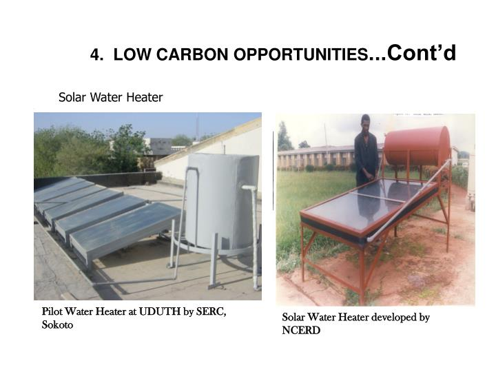 Solar Water Heater developed by NCERD