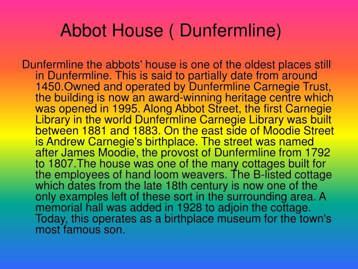 Abbot House ( Dunfermline)