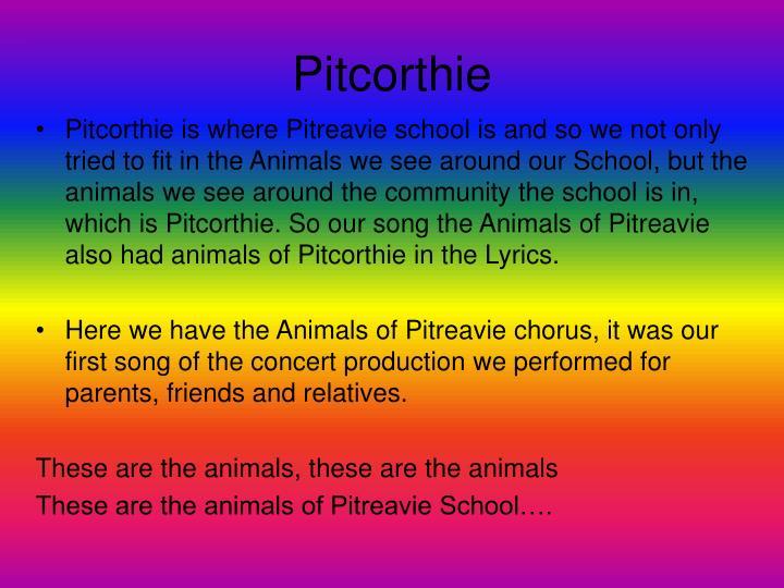 Pitcorthie