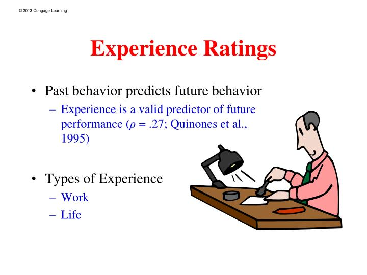 Experience Ratings