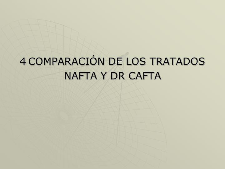 COMPARACIÓN DE LOS TRATADOS