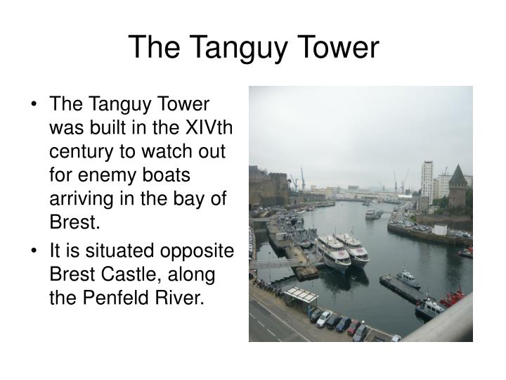 The tanguy tower