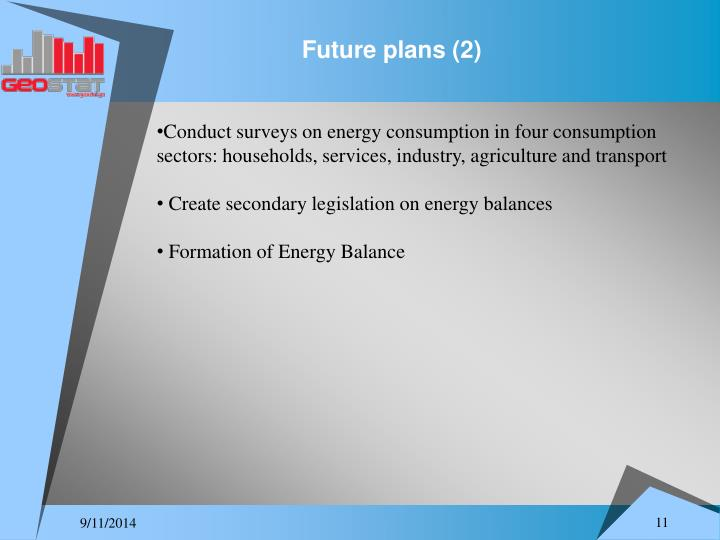 Future plans (2)