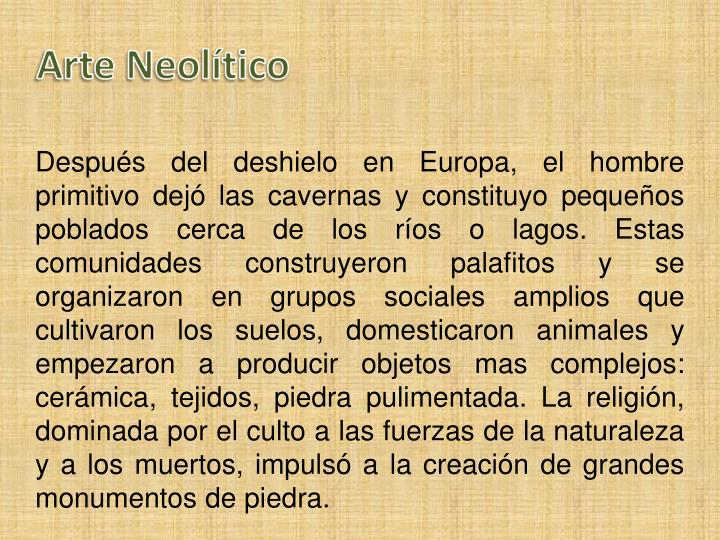 Arte Neolítico