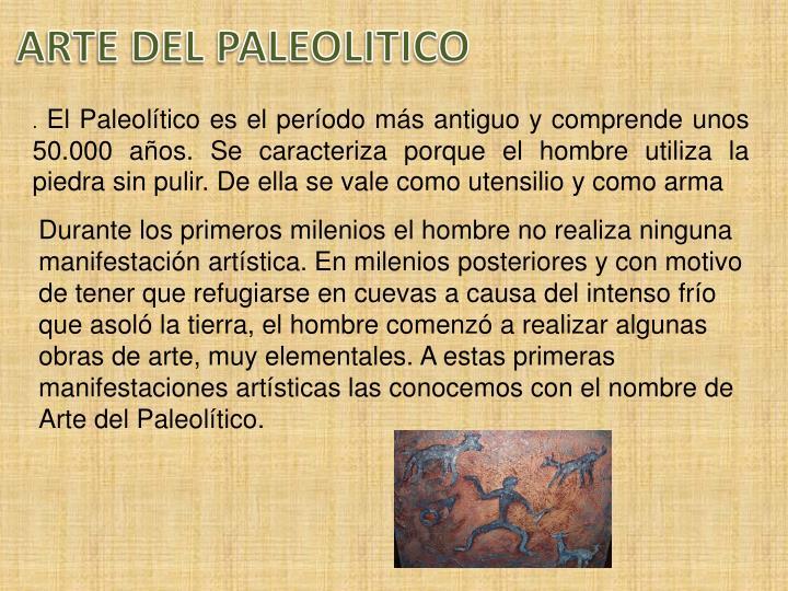 ARTE DEL PALEOLITICO