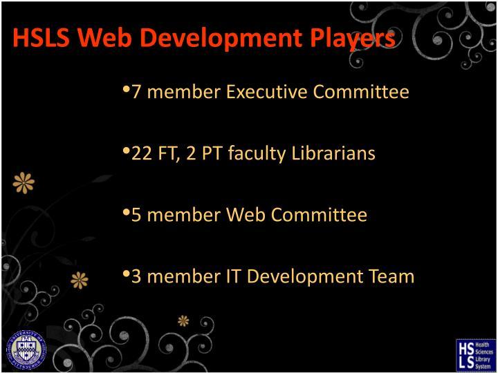 HSLS Web