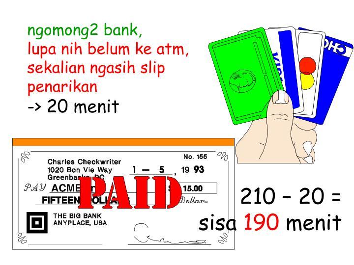 ngomong2 bank,