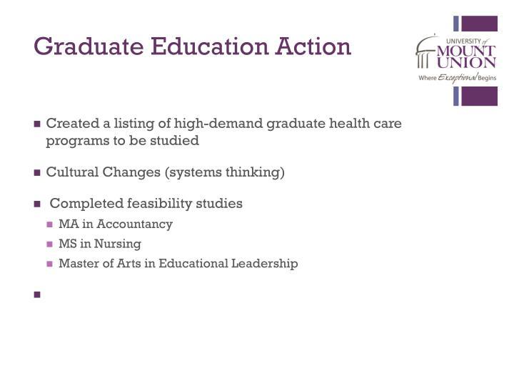 Graduate Education Action