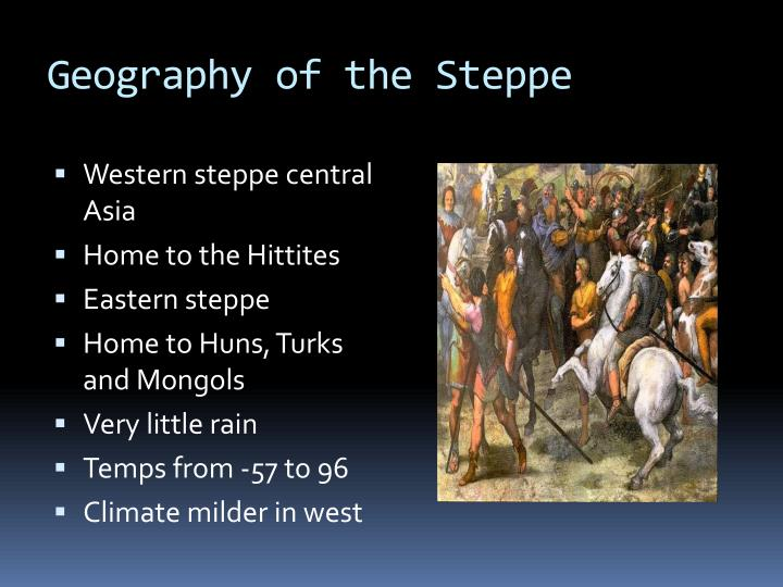 Geography of the Steppe
