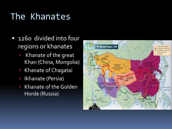 The Khanates