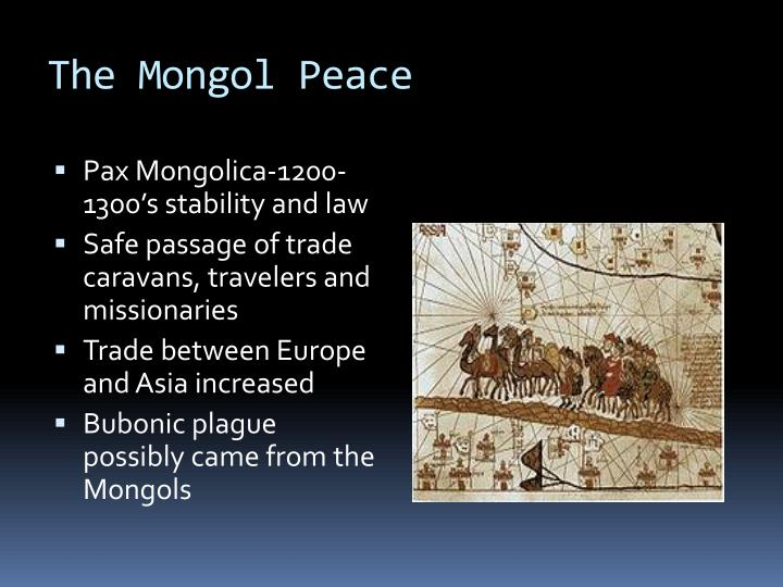 The Mongol Peace