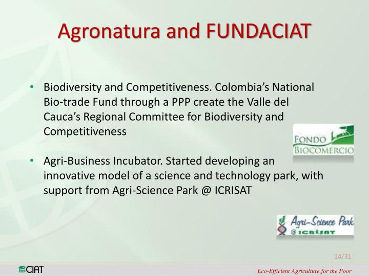 Agronatura and FUNDACIAT