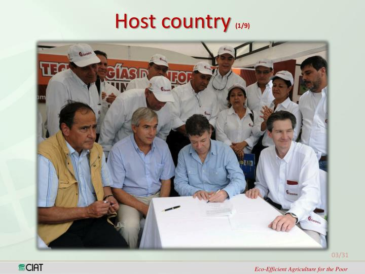 Host country
