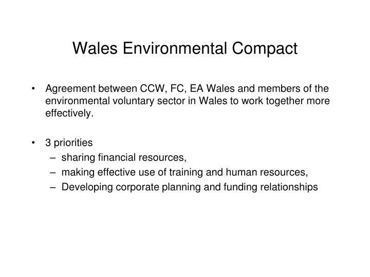 Wales Environmental Compact