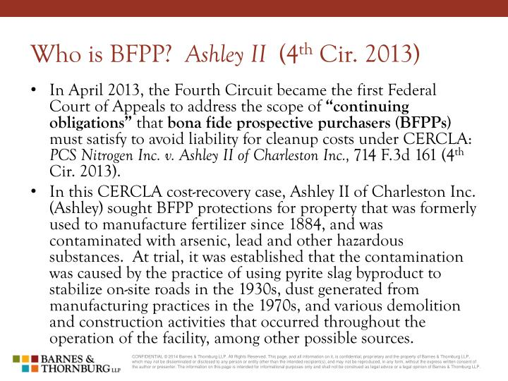 Who is BFPP?