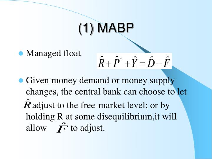 (1) MABP