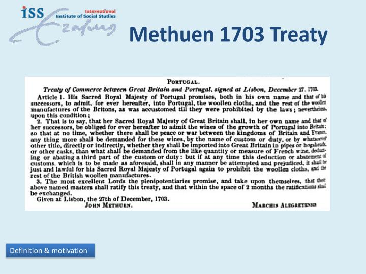 Methuen 1703 Treaty