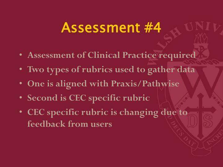 Assessment #4