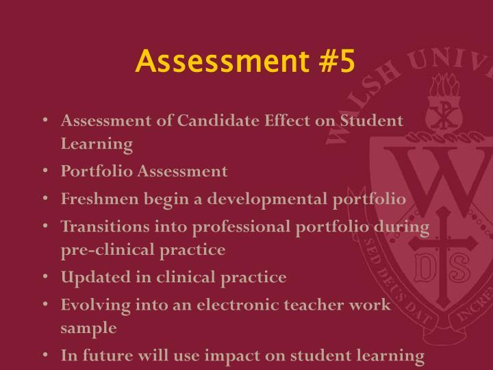 Assessment #5