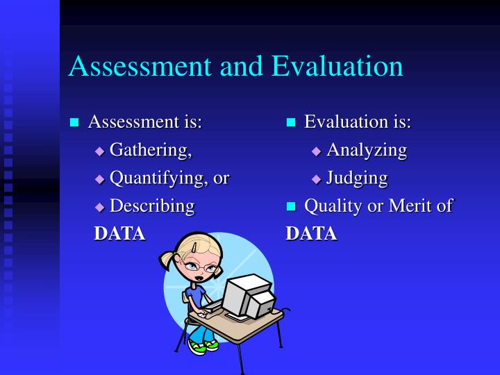 Assessment is: