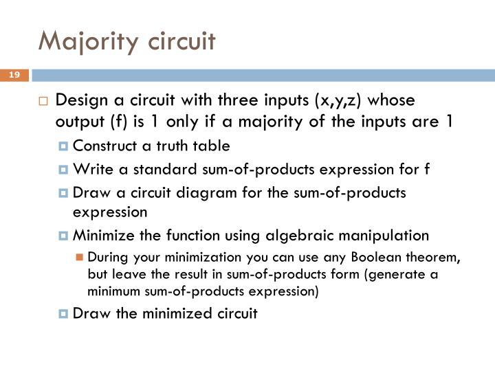 Majority circuit
