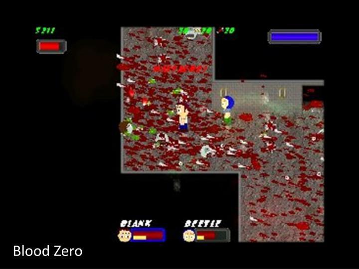 Blood Zero