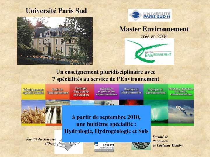 Université Paris Sud