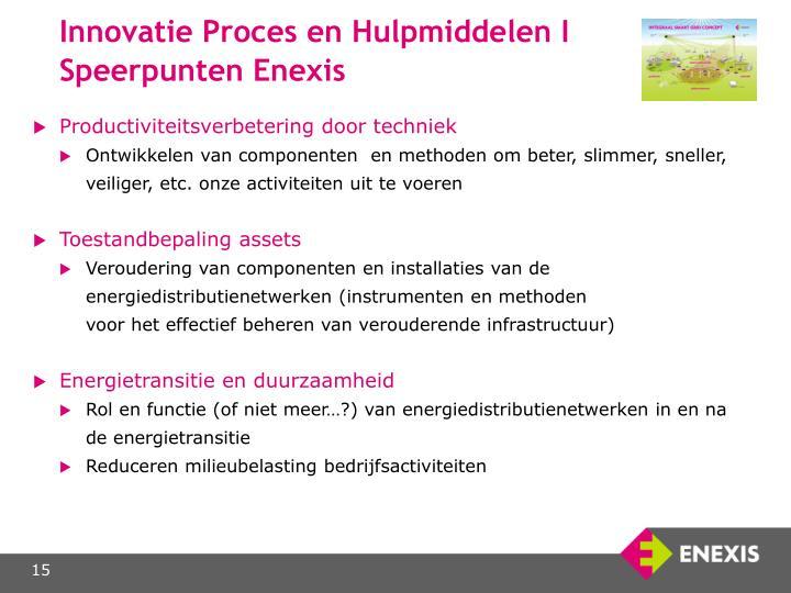 Innovatie Proces en Hulpmiddelen I
