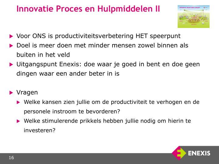 Innovatie Proces en Hulpmiddelen II
