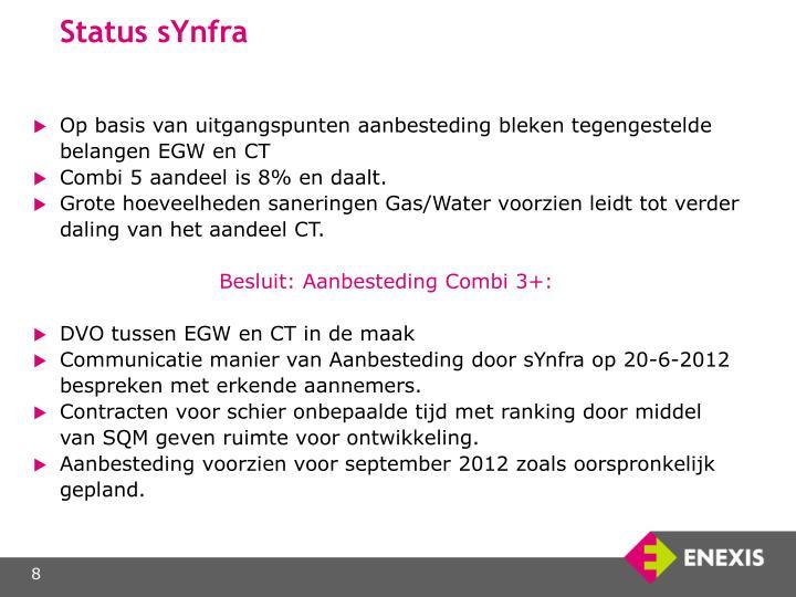 Status sYnfra