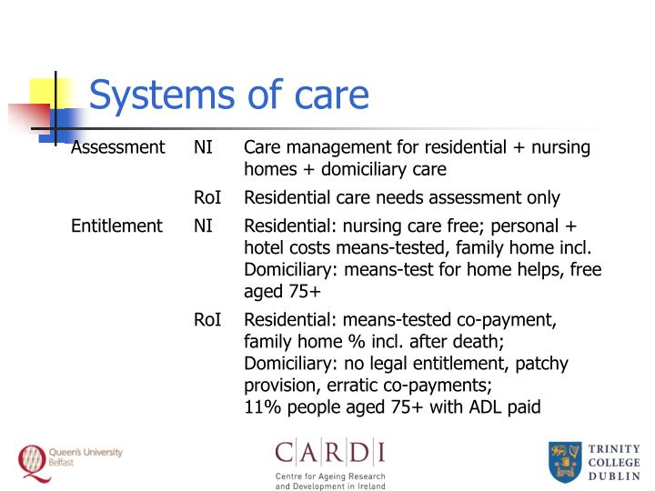 Systems of care