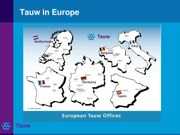 Tauw in europe