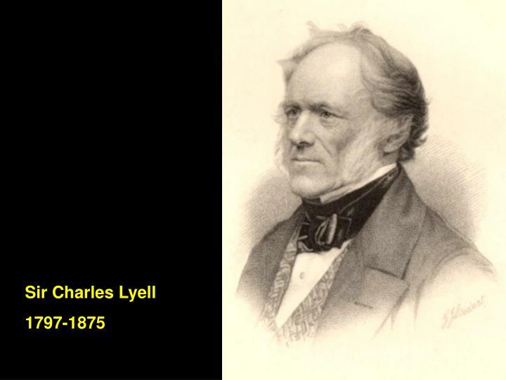 Sir Charles Lyell